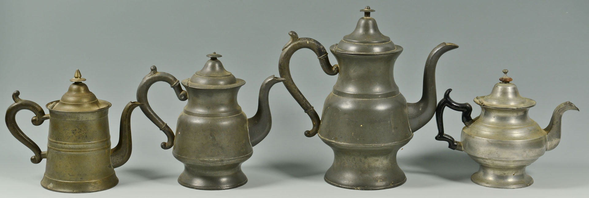 Large Grouping of Pewter, 30 pieces