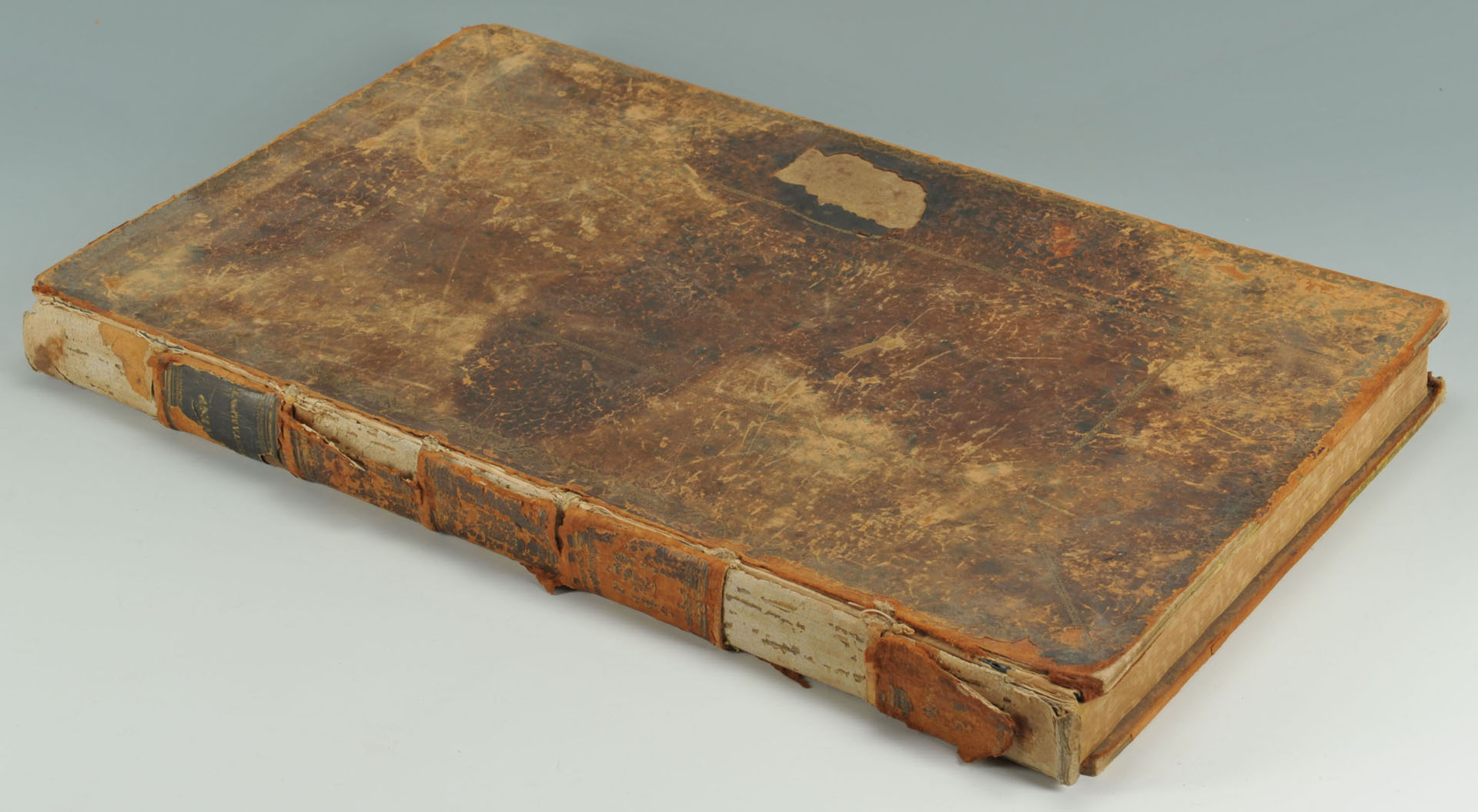 Lot 692: 1822 Columbian Family and Pulpit Bible