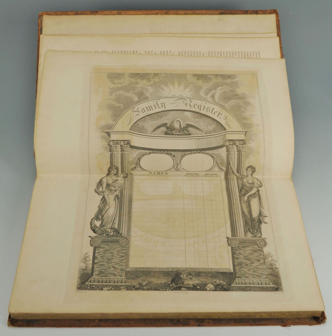 1822 Columbian Family and Pulpit Bible