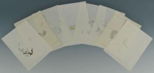 Lot 6: 22 Woodblock Prints, Ten Bamboo Studio