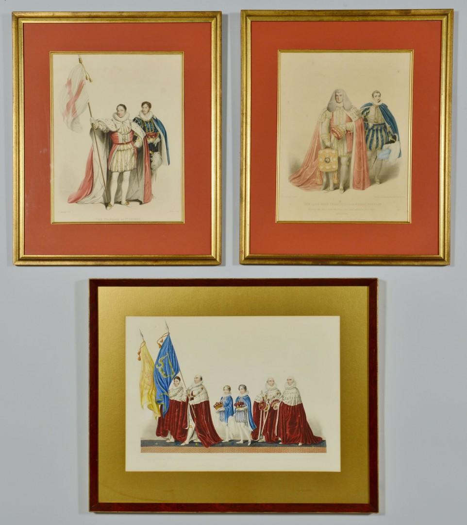 Lot 705: Grouping of 3 English Royalty Prints