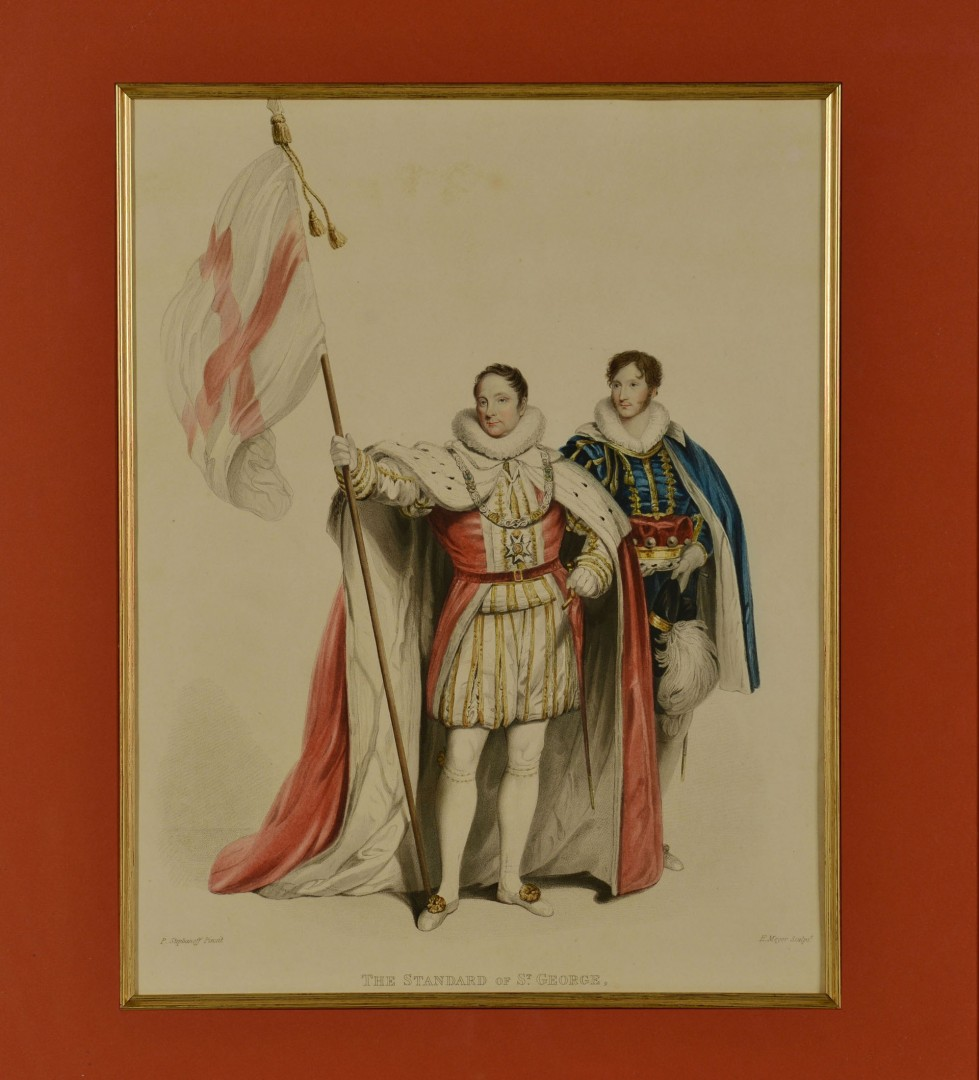 Grouping of 3 English Royalty Prints