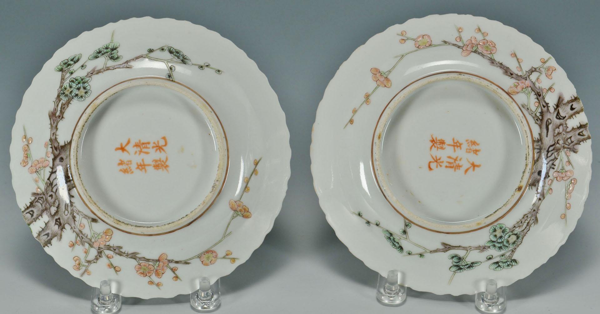 Asian Buttons and Ceramics