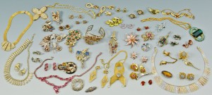 Lot 734: Group of Vintage Costume Jewelry