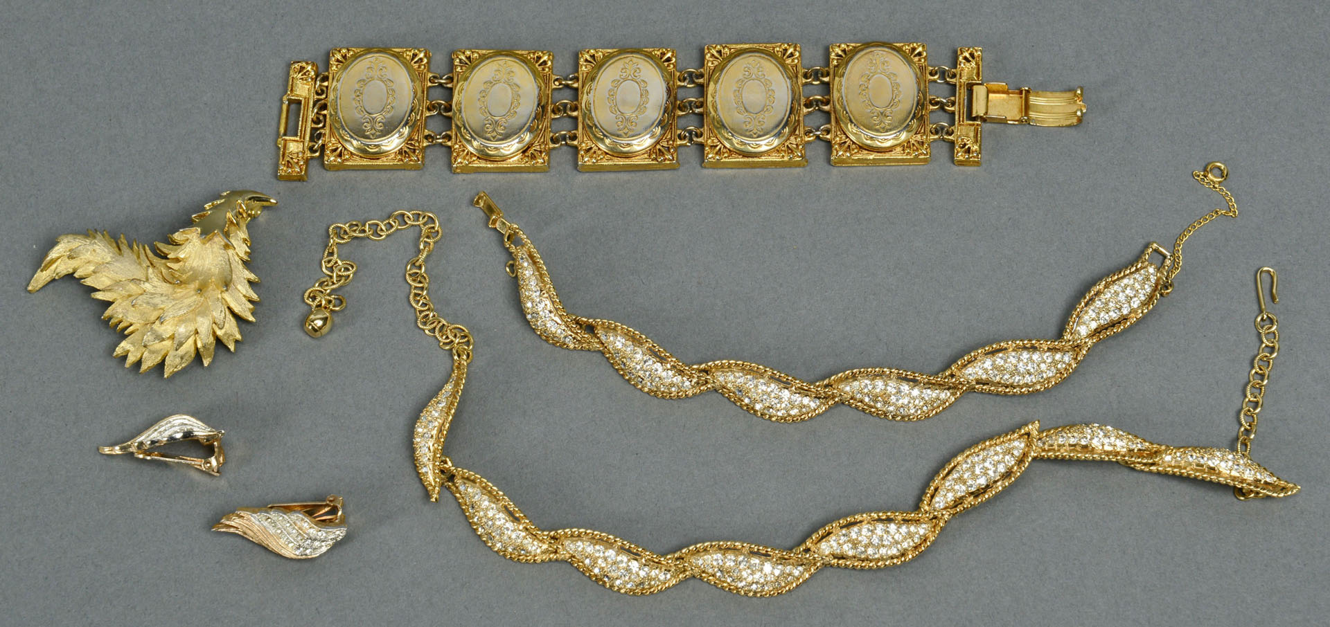Lot 735: Group of Designer Costume Jewelry