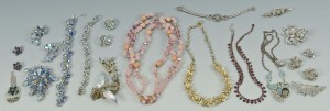 Lot 737: Group of Vintage Designer Costume Jewelry