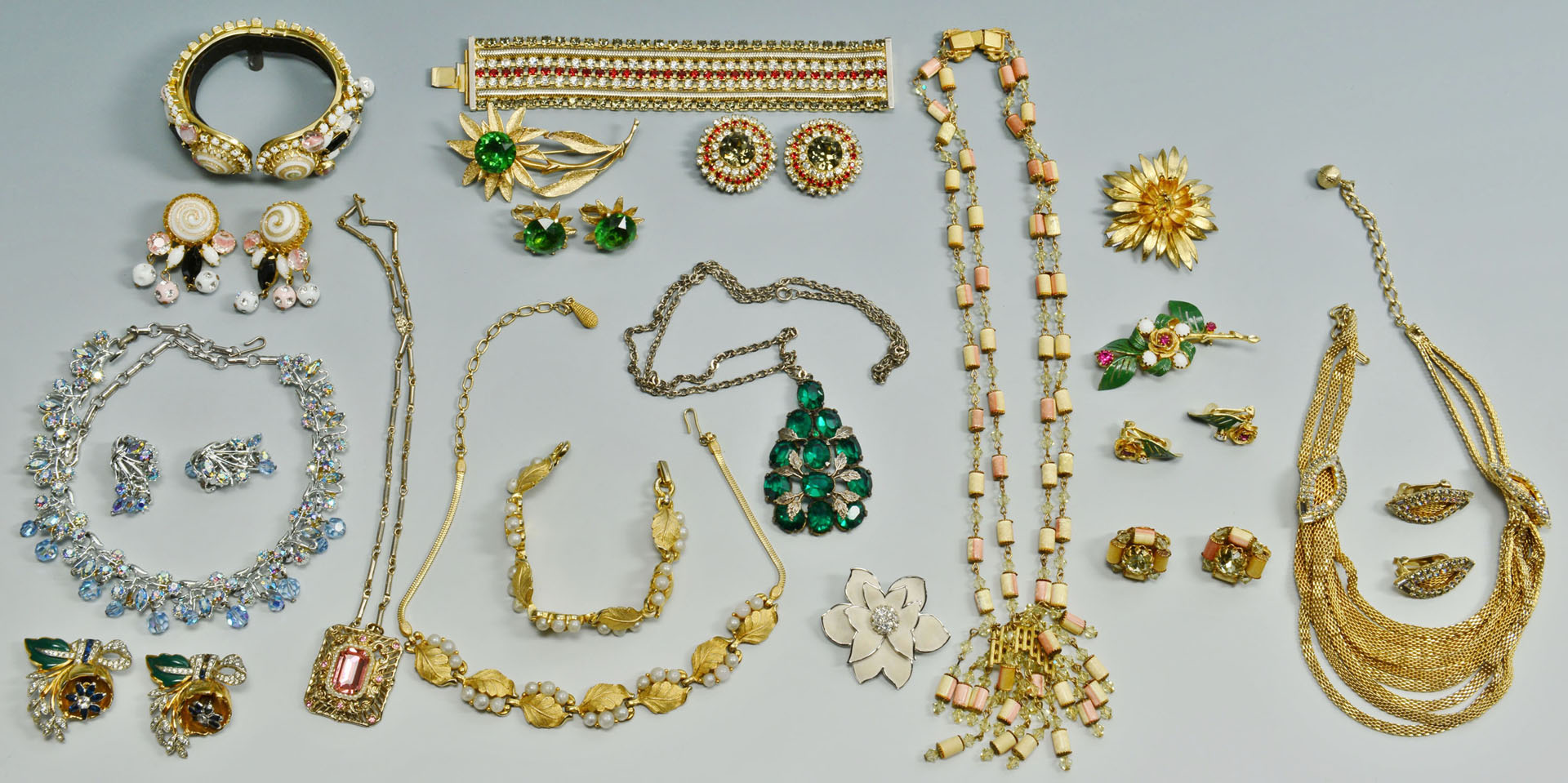 Group Costume Jewelry: Hobe, Coro, Pennino