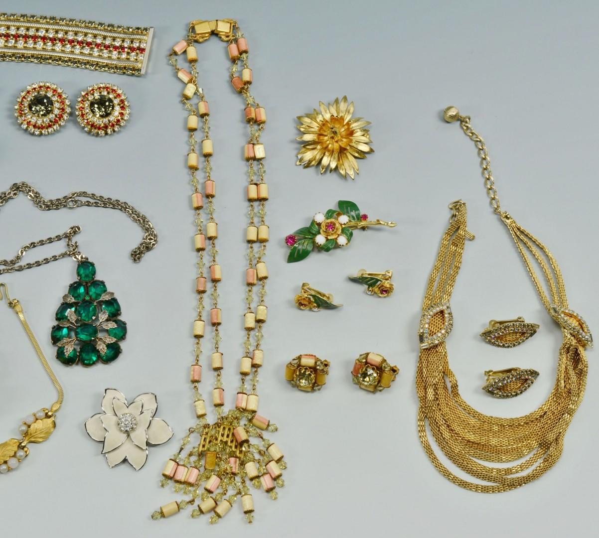 Lot 738: Group Costume Jewelry: Hobe, Coro, Pennino