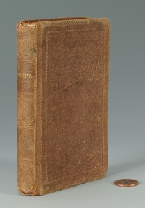 Lot 73: Confederate Soldier's Bible, 1861 TN Bible Society