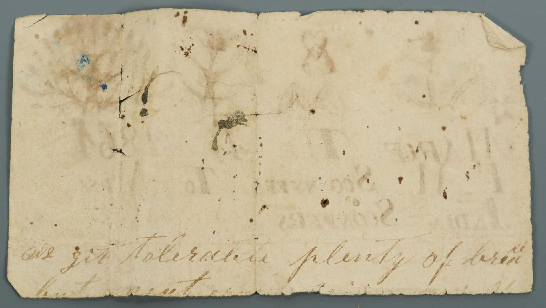 Lot 74: 2 Civil War Era AL Ambrotypes w/ Folk Art Note
