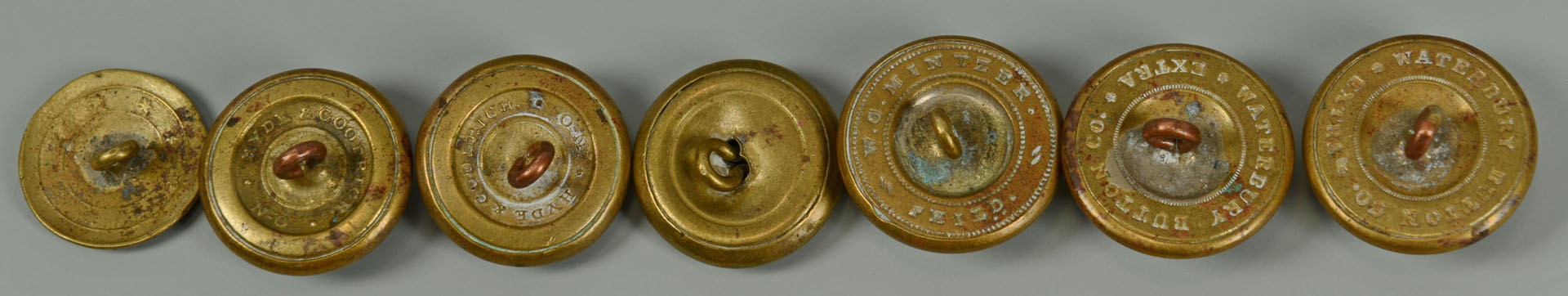 Mississippi Infantry Buttons and others