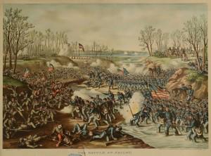 Lot 78: 5 Kurz & Allison Civil War Battle Prints - Image 3