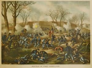 Lot 78: 5 Kurz & Allison Civil War Battle Prints - Image 4
