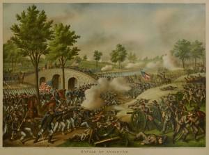 Lot 78: 5 Kurz & Allison Civil War Battle Prints - Image 5
