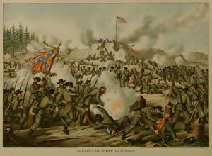 Lot 78: 5 Kurz & Allison Civil War Battle Prints - Image 6