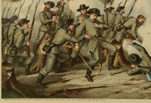 Lot 78: 5 Kurz & Allison Civil War Battle Prints - Image 8