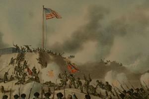 Lot 78: 5 Kurz & Allison Civil War Battle Prints - Image 9