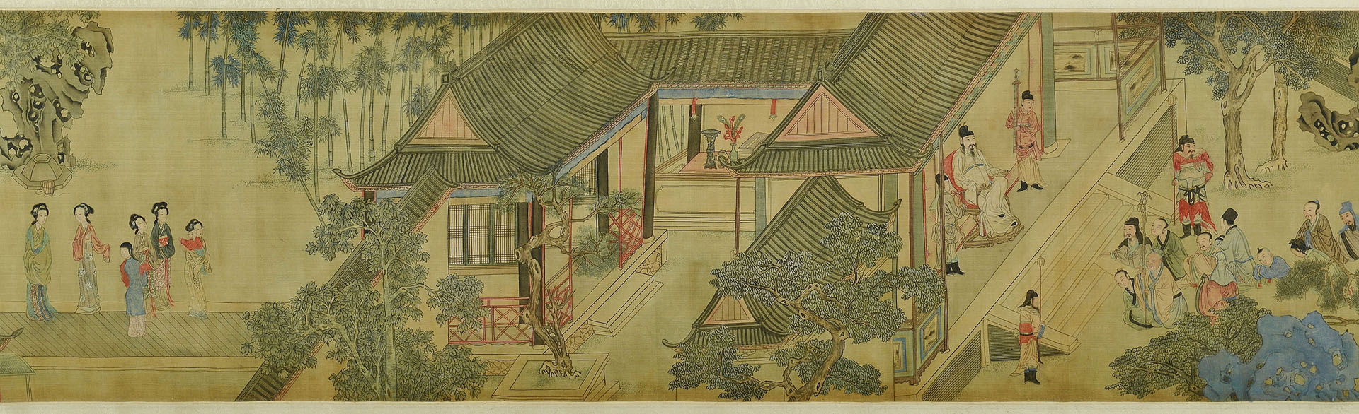 Classical Chinese Handscroll on Silk