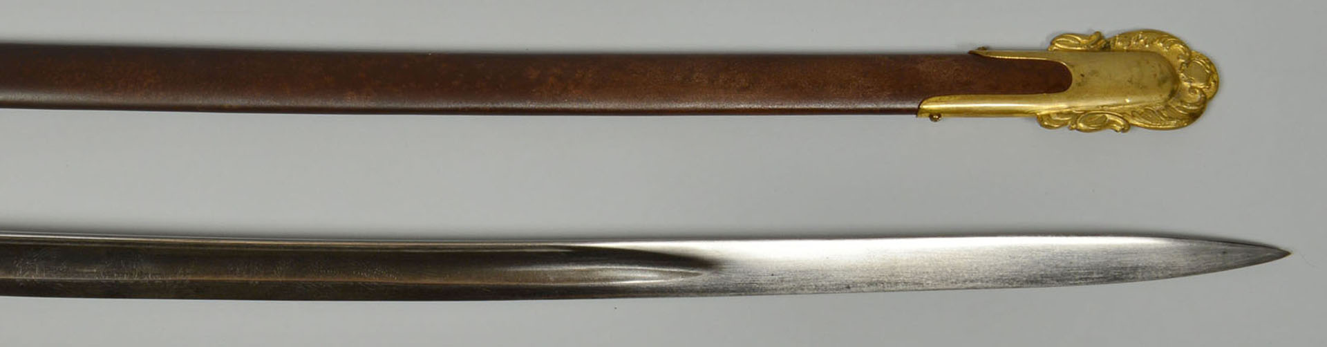 Lot 84: Ames M1850 Staff and Field Officers Sword