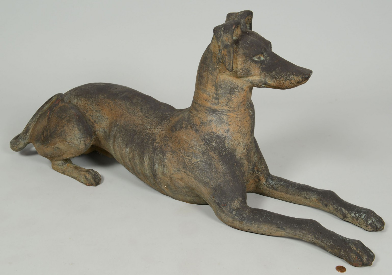 Lot 86: Cast Iron Whippet