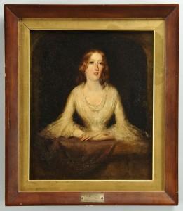 Lot 2872254: E. N. Downard portrait of young woman