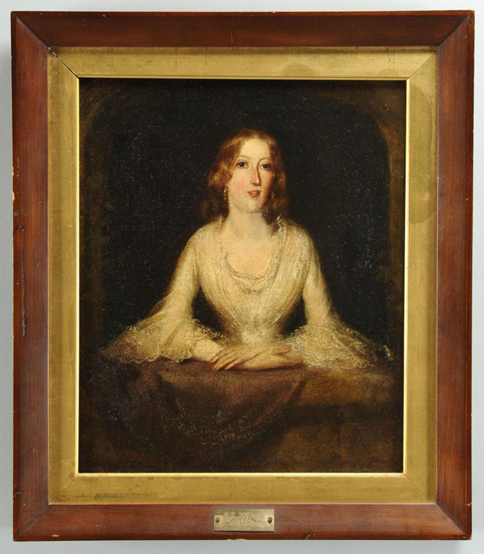 Lot 2872254: E. N. Downard portrait of young woman
