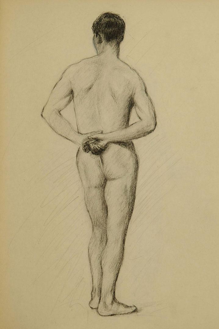 Lot 2872256: Laura Barker, listed artist, 1902 sketchbook