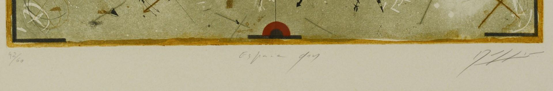 Lot 2872265: 3 Georges Dussau Colored Engravings