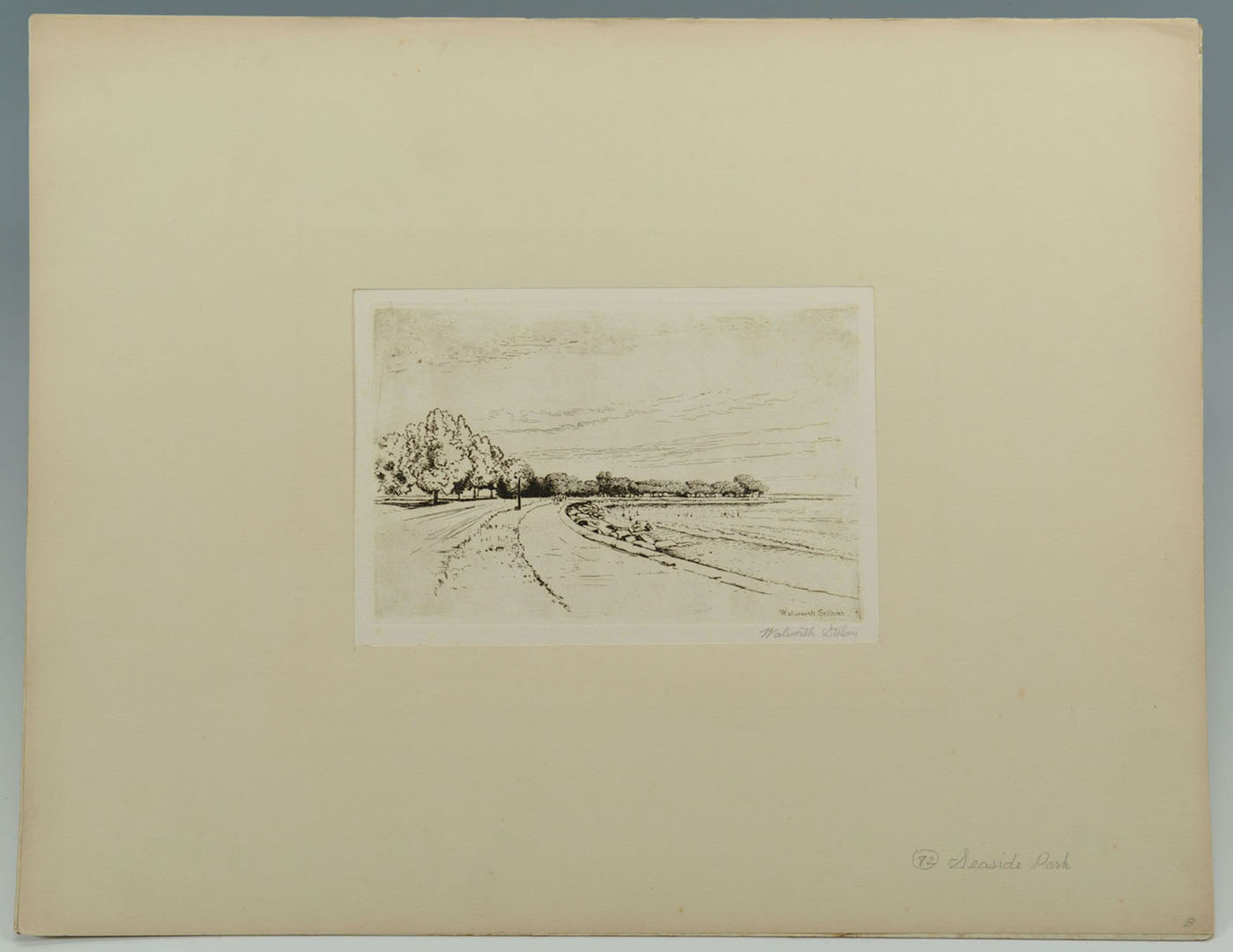 Lot 2872266: Walworth Stilson Etchings of New York, 7 total