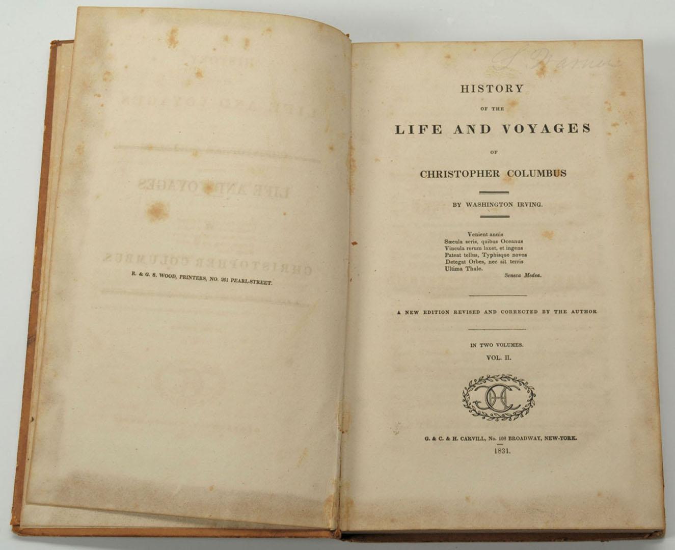 Lot 2872289: 4 books: Columbus, NYC History, Centennial Exhibit