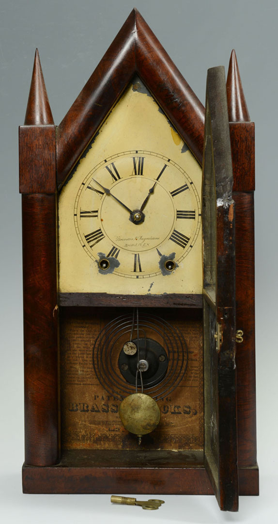 Lot 2872291: Group of 3 Clocks, Ball Watch Co., Brewster & Ingr