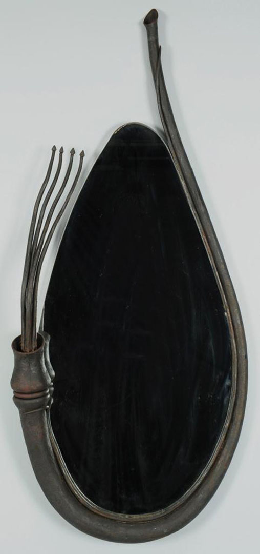 "Lot 2872304: ""Squid"" Mirror by Richard Sextone"