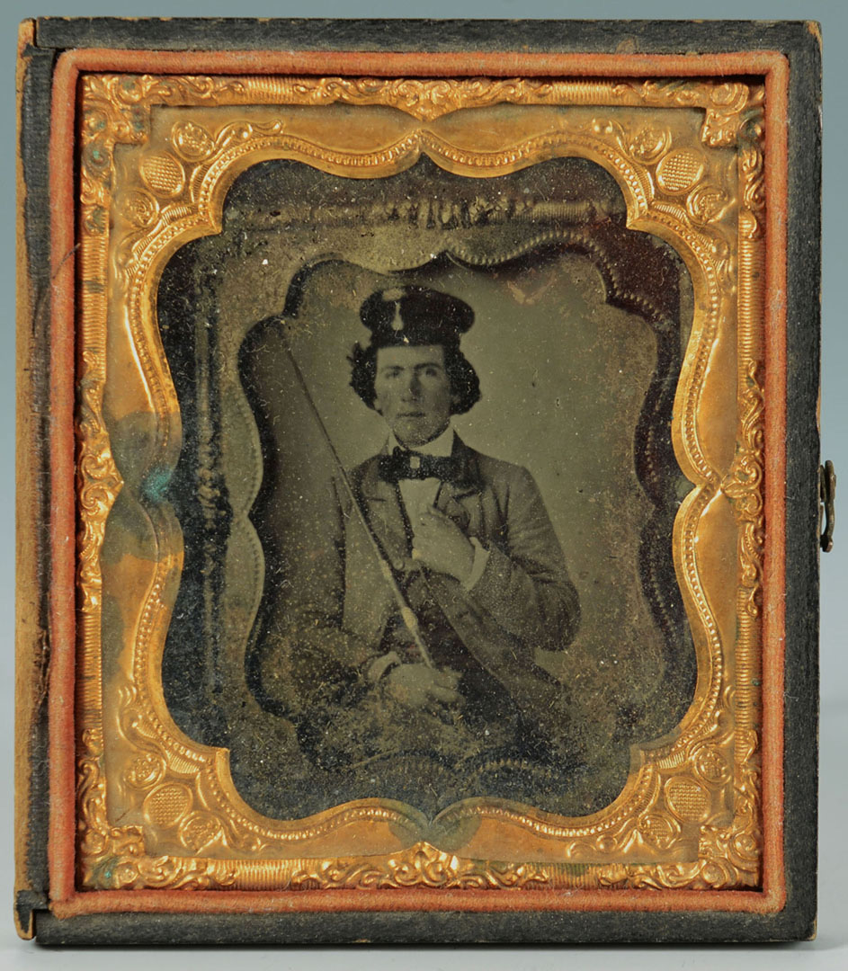 Lot 2872328: 19th c. Ambrotype and NYC Photographic print