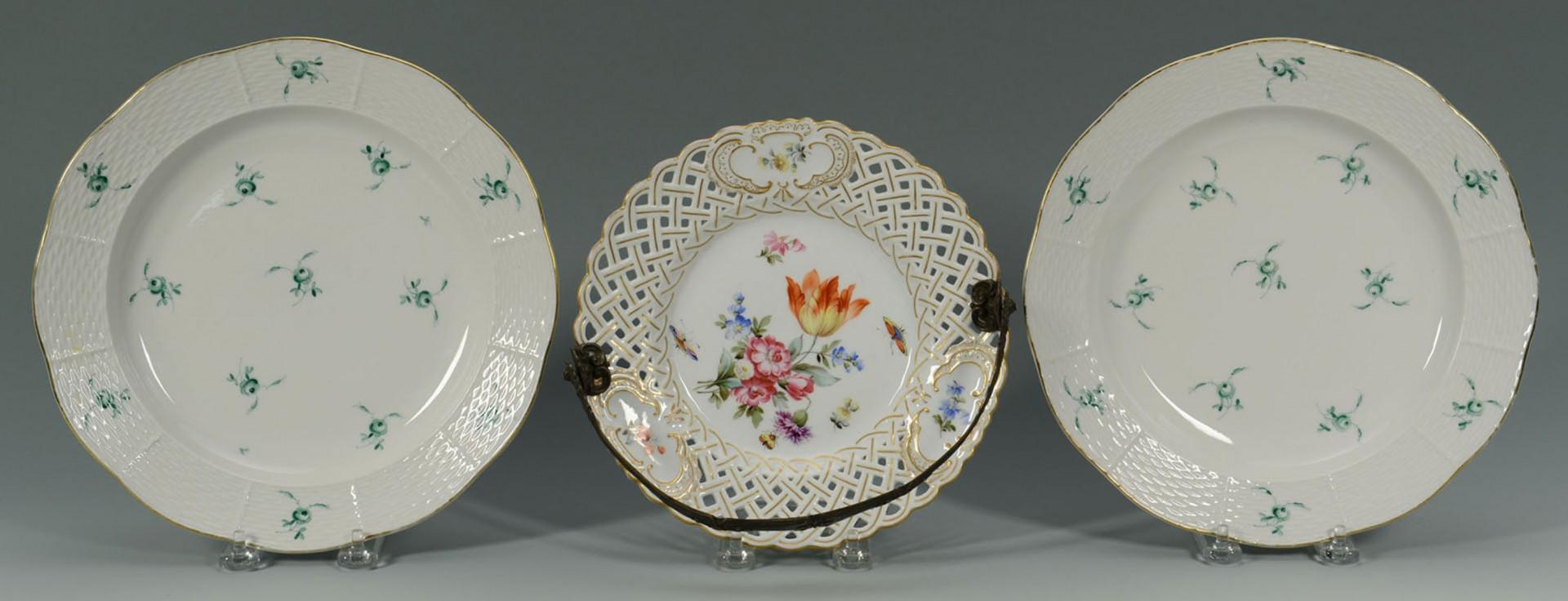 Lot 2872333: 3 Herend Porcelain Plates