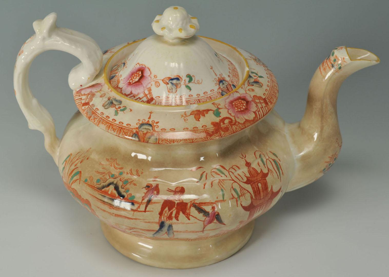 Lot 2872339: 2 English Ceramic Items w/ Asian Themes