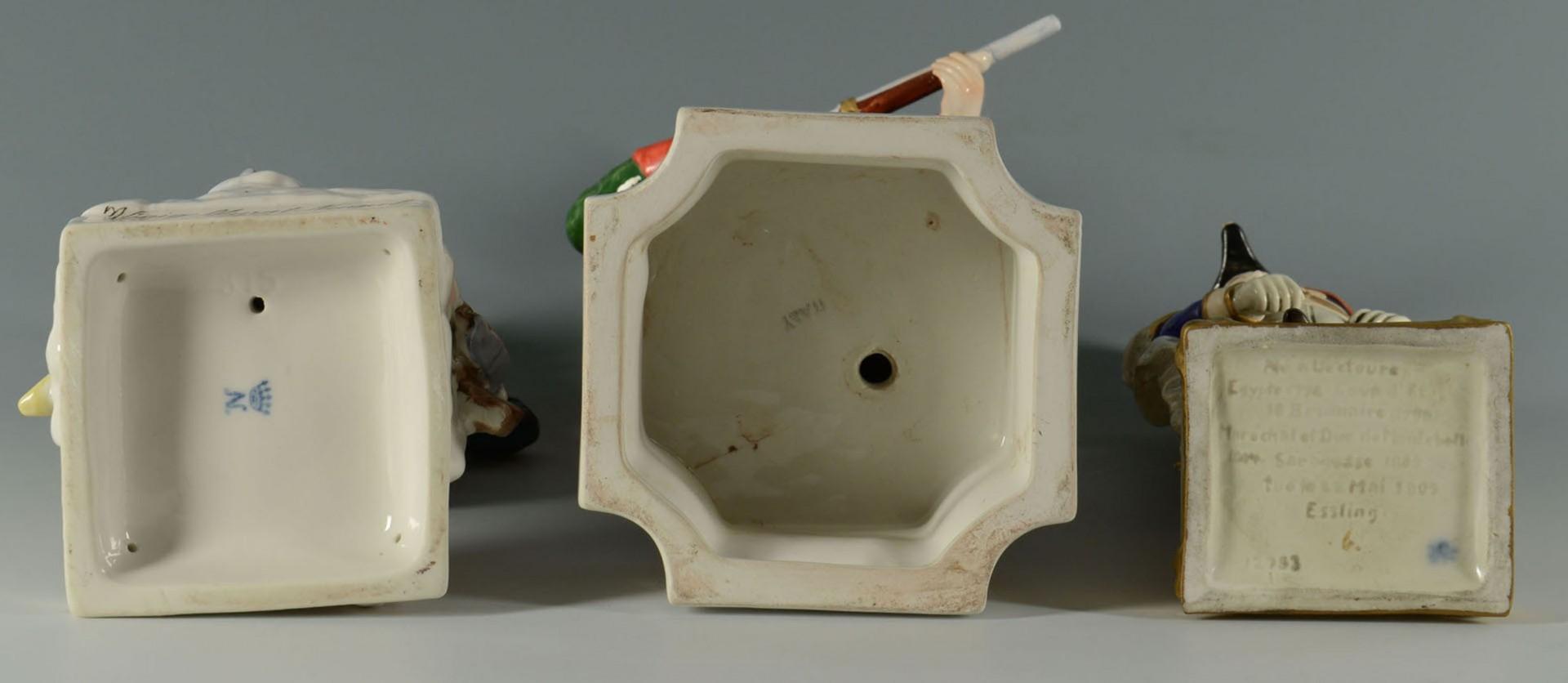 Lot 2872343: Group of 3 European Porcelain Figures