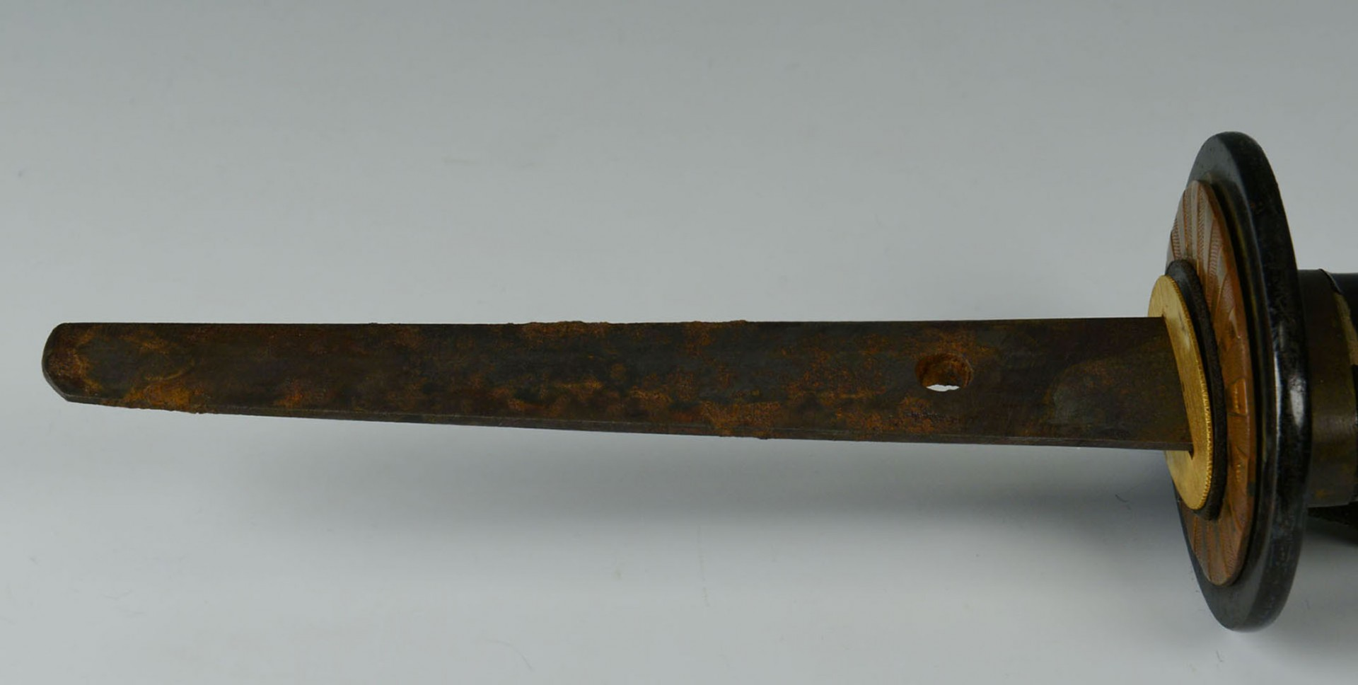 Lot 2872353: Japanese Naval Officer's Sword with Signed Tang