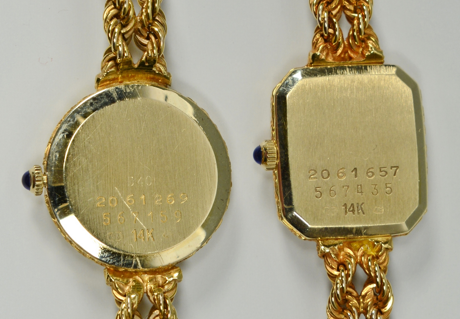 Lot 3088053: 2 Concord 14k Ladies Watches