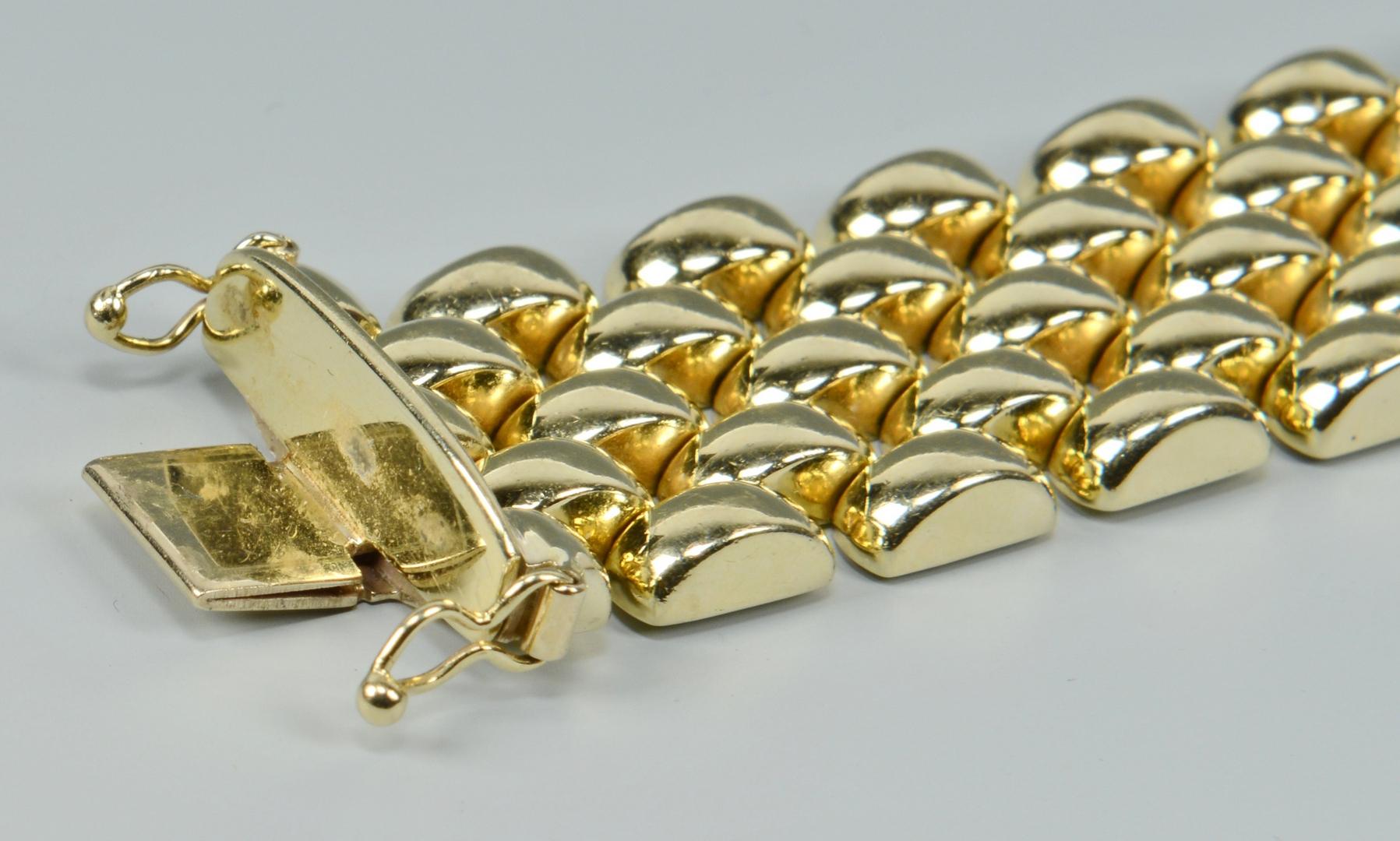 Lot 3088065: Italian 14k Link Bracelet