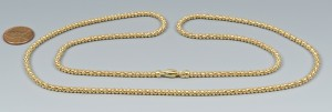 Lot 3088066: 18k Gold Chain, 20.3 grams
