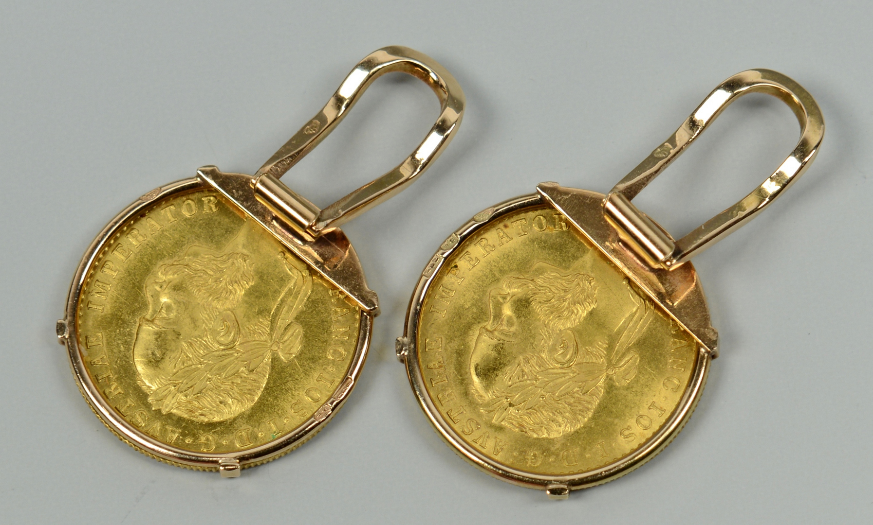 Lot 3088071: 3 1915 Austrian Ducat Coin Jewelry Items