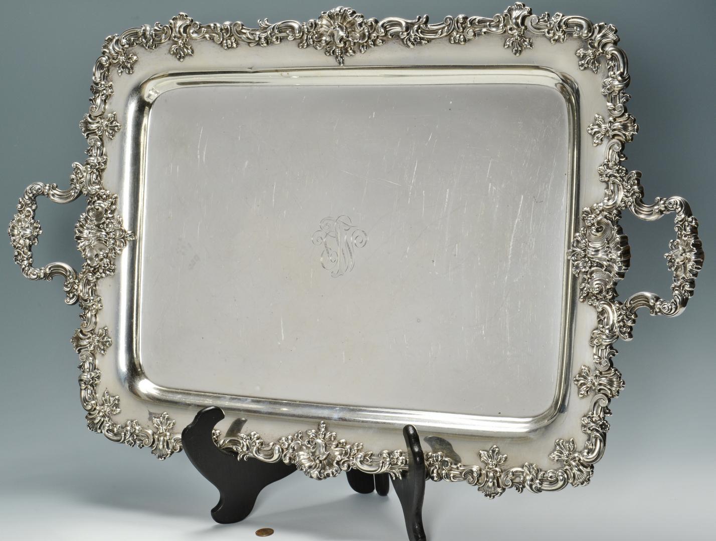 Lot 3088076: Sterling Platter, Black Starr & Frost