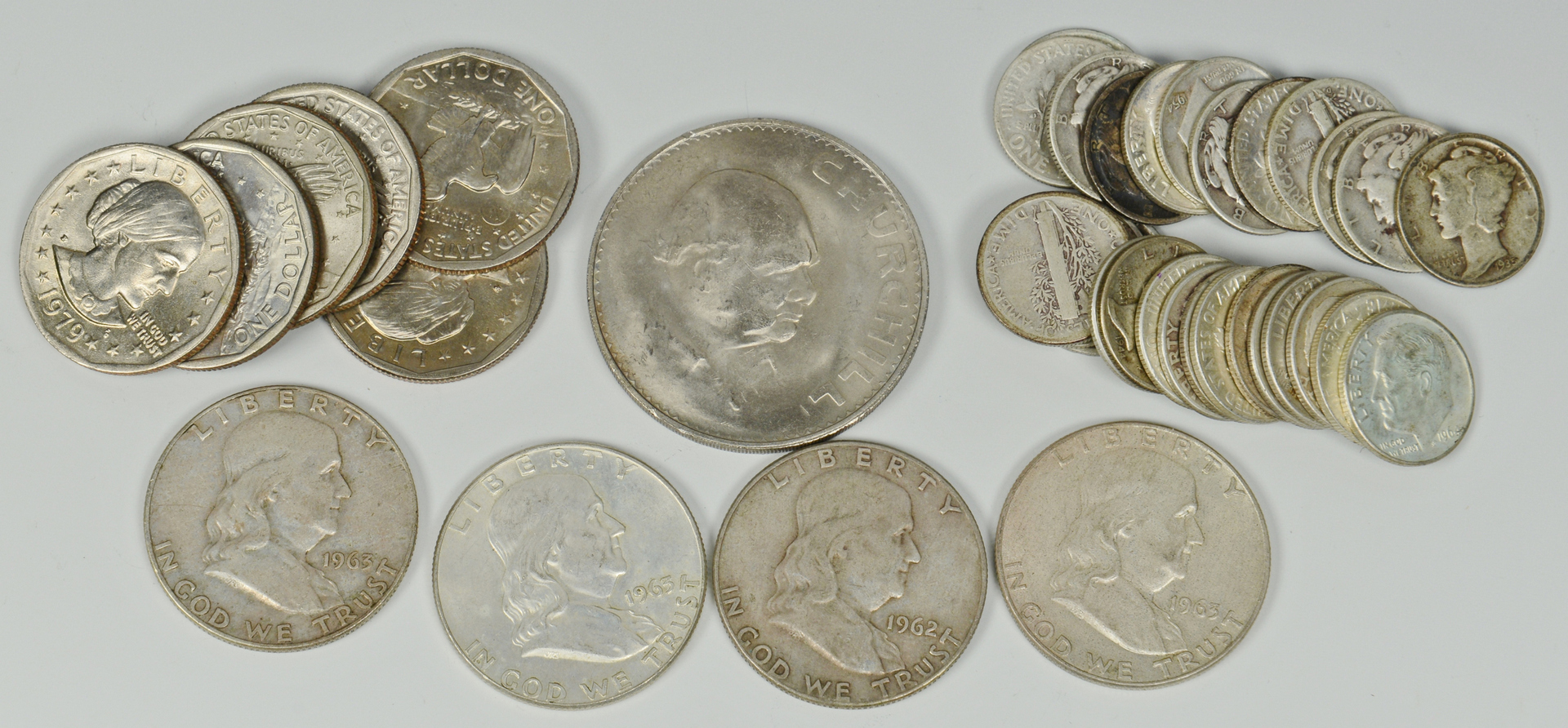 Lot 3088085: Large Lot of US & World Coins