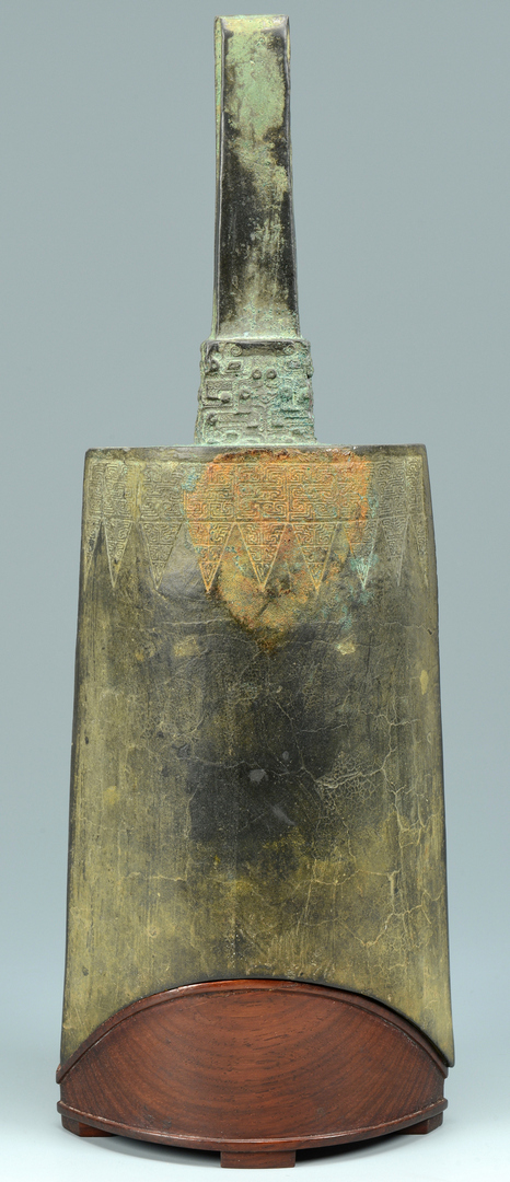 Lot 3088088: Chinese Archaic Zhou Dynasty Bell