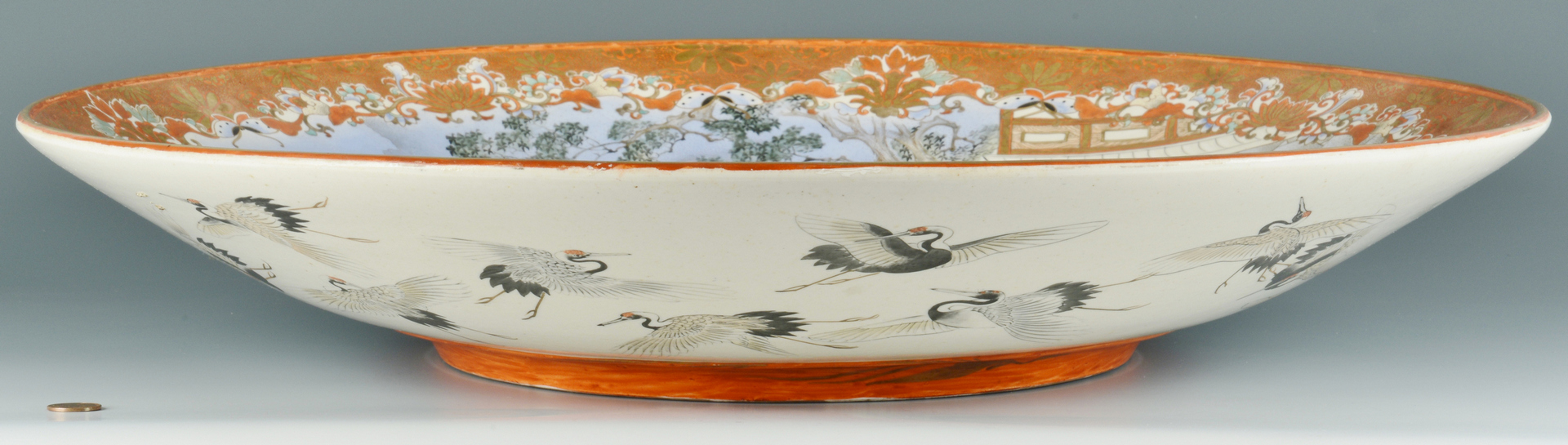 Lot 3088090: Massive Japanese Meiji Porcelain Charger
