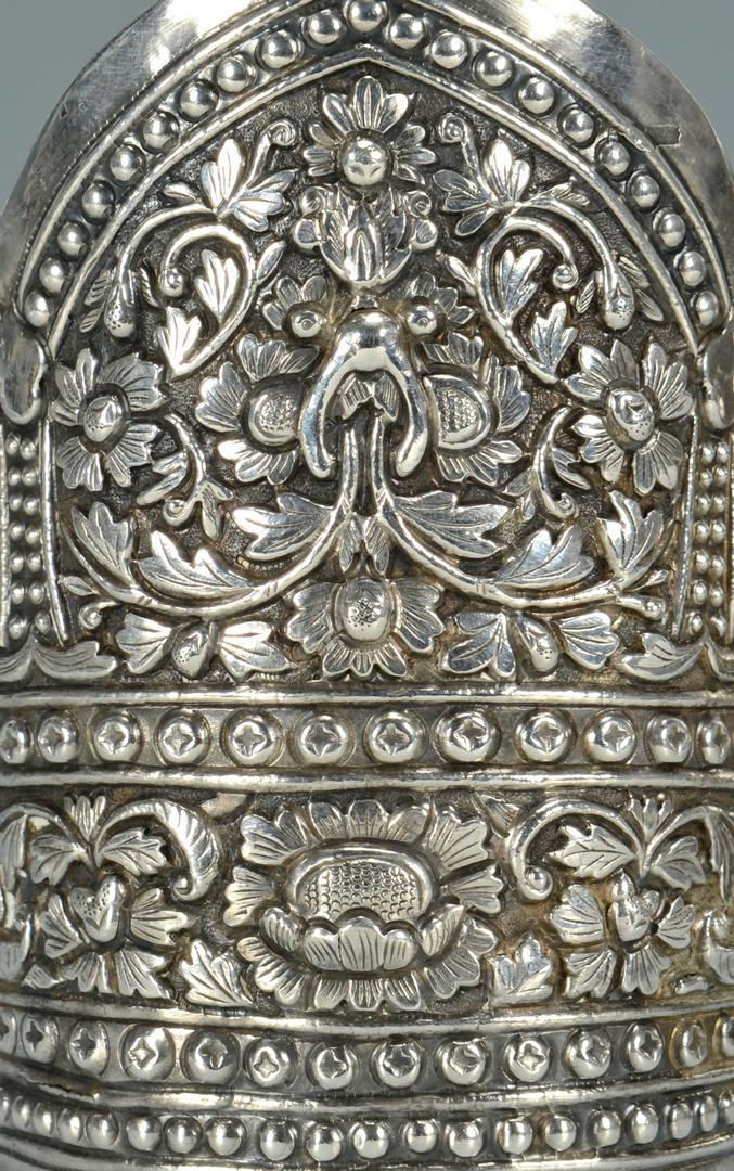 Lot 3088097: Pr. Chinese Silver Cuff Bracelets