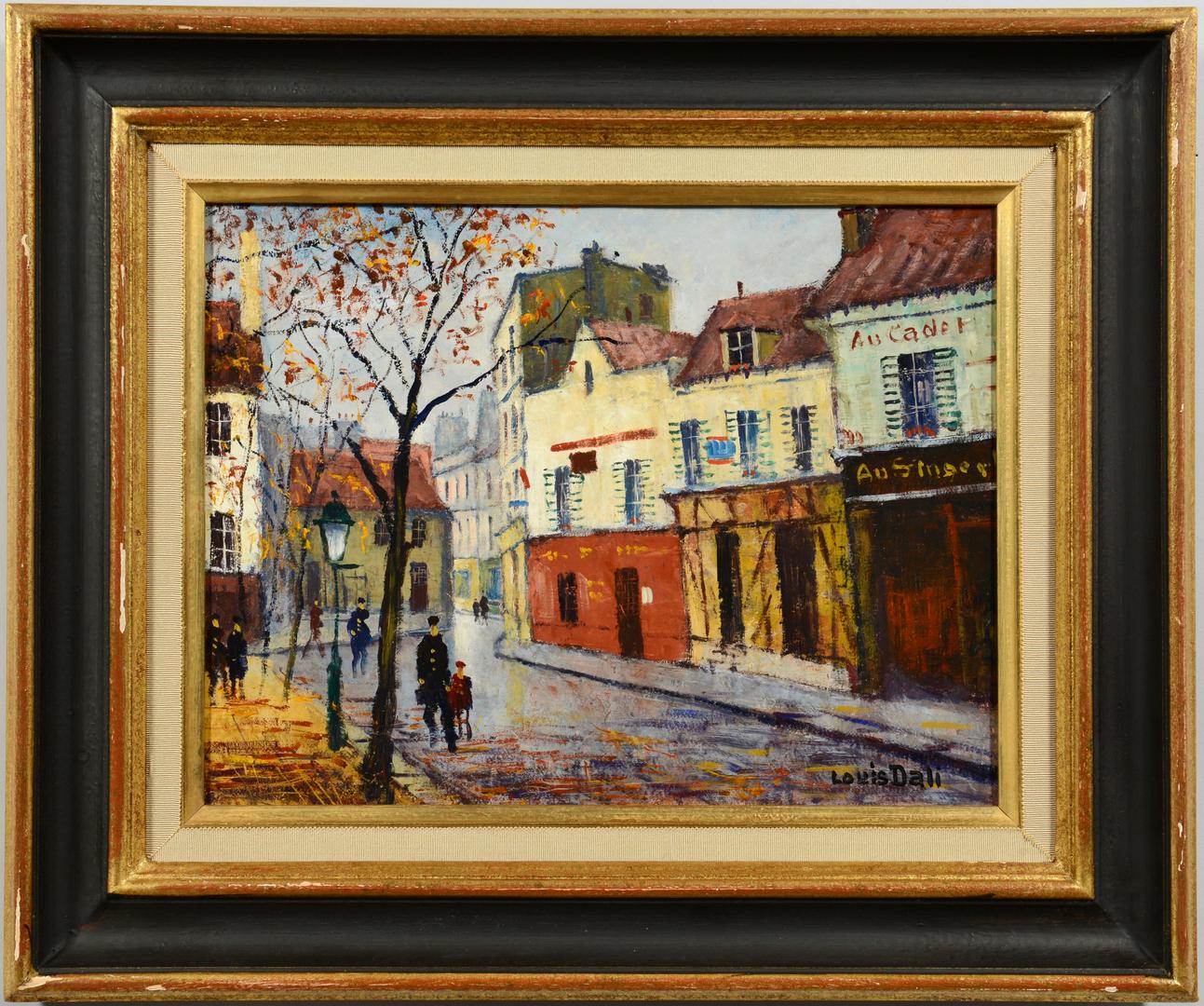 Lot 3088109: Louis Dali o/b, Au Cadet, Paris