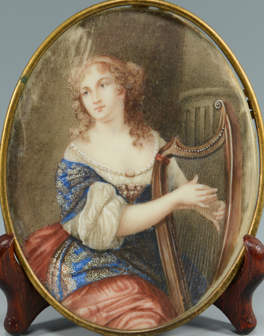 Lot 3088119: Miniature Portrait, Anne Marie Louise d'Orleans