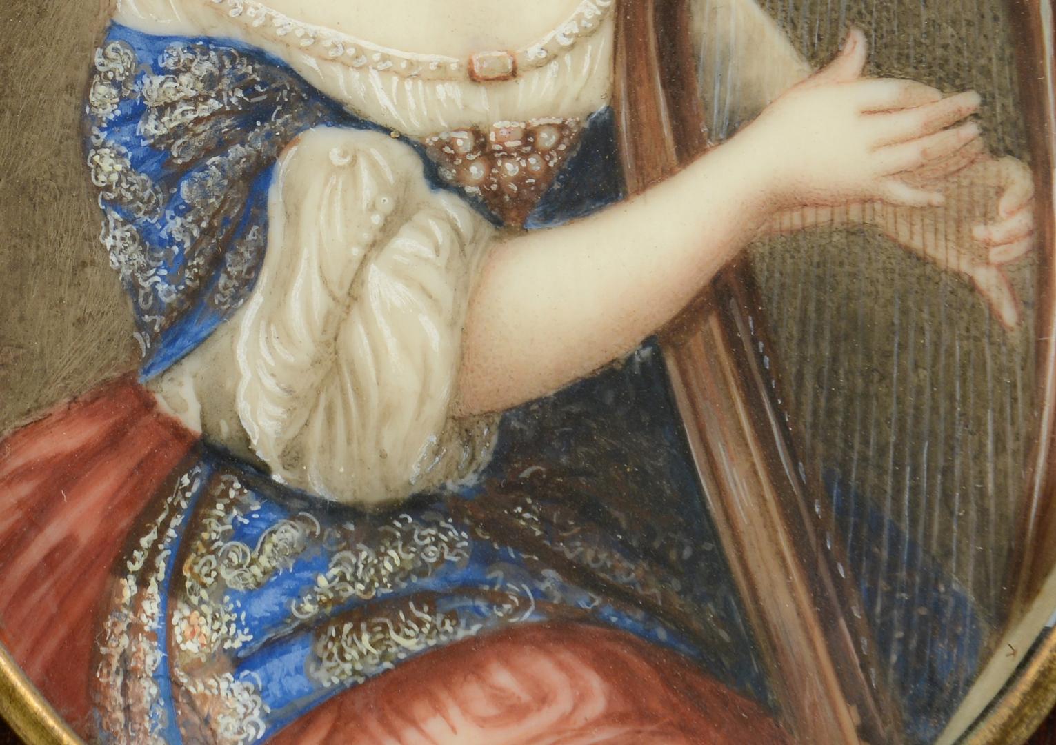 Lot 3088119: Miniature Portrait, Anne Marie Louise d'Orleans
