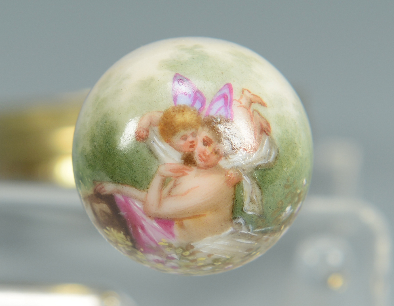 Lot 3088122: 3 Decorative items inc. Coromandel Box, Baccarat b